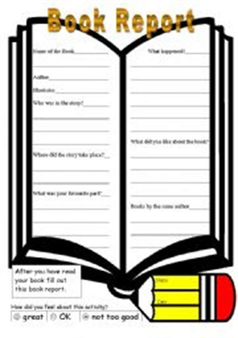 9 Examples of Book Report Format - Templatenet